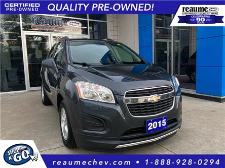 2015 Chevrolet Trax 2LT (Stk: 21-0534A) in LaSalle - Image 1 of 24