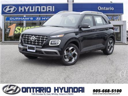 2021 Hyundai Venue Ultimate w/Black Interior (IVT) (Stk: 108002) in Whitby - Image 1 of 18
