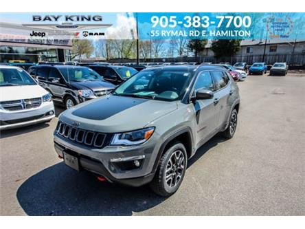 2021 Jeep Compass Trailhawk (Stk: 217599) in Hamilton - Image 1 of 27