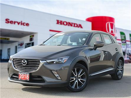 2018 Mazda CX-3 GT (Stk: P21-095) in Vernon - Image 1 of 17