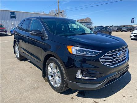 2021 Ford Edge Titanium (Stk: 21108) in Wilkie - Image 1 of 25