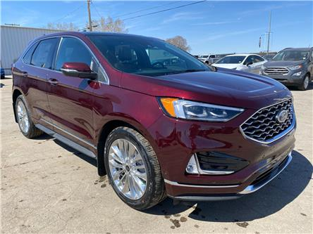 2021 Ford Edge Titanium (Stk: 21129) in Wilkie - Image 1 of 25