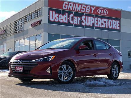 2020 Hyundai Elantra Sunroof, Rear View Camera and Safety Pkg (Stk: U1882) in Grimsby - Image 1 of 20
