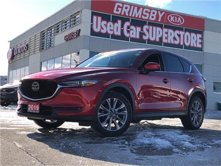 2019 Mazda CX-5 Leather, Navigation, Sunroof, Safety Tech Pkg (Stk: U1844) in Grimsby - Image 1 of 24