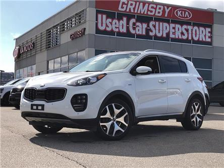 2017 Kia Sportage SX TURBO/ PANO ROOF/ BACK UP CAMERA (Stk: U1885A) in Grimsby - Image 1 of 19