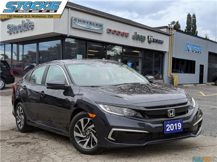 2019 Honda Civic EX (Stk: 36435) in Waterloo - Image 1 of 27