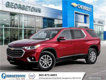 2021 Chevrolet Traverse LT Cloth (Stk: 33010) in Georgetown - Image 1 of 27