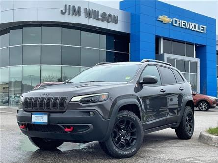 2019 Jeep Cherokee Trailhawk (Stk: 2021510A) in Orillia - Image 1 of 21