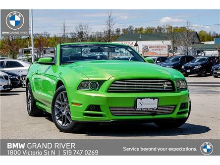 2014 Ford Mustang V6 Premium (Stk: 34731A) in Kitchener - Image 1 of 27