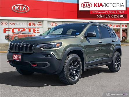 2019 Jeep Cherokee Trailhawk (Stk: SE21-233A) in Victoria - Image 1 of 24