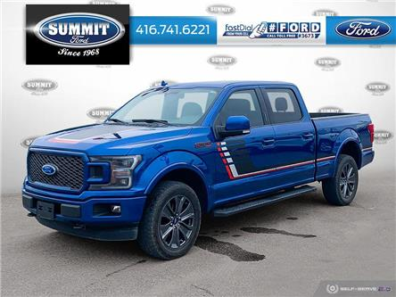 2018 Ford F-150 Lariat (Stk: P22150) in Toronto - Image 1 of 25