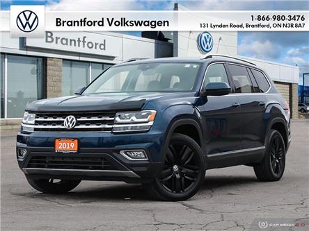 2019 Volkswagen Atlas 3.6 FSI Execline (Stk: JE21721A) in Brantford - Image 1 of 27