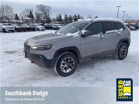 2020 Jeep Cherokee Trailhawk (Stk: D00054) in OTTAWA - Image 1 of 26