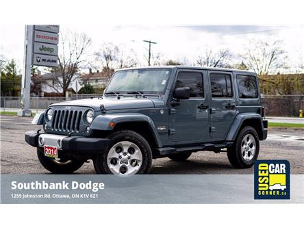 2014 Jeep Wrangler Unlimited Sahara (Stk: 2101931) in OTTAWA - Image 1 of 22