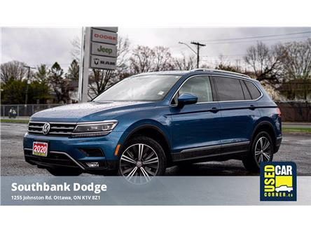 2018 Volkswagen Tiguan Highline (Stk: 2101951) in OTTAWA - Image 1 of 25