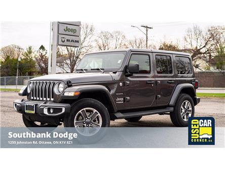 2021 Jeep Wrangler Unlimited Sahara (Stk: 923073) in OTTAWA - Image 1 of 26