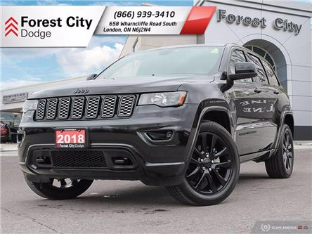 2018 Jeep Grand Cherokee Laredo (Stk: 21-7017A) in London - Image 1 of 35