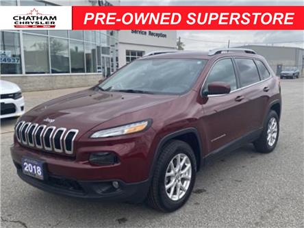 2018 Jeep Cherokee North (Stk: N05026A) in Chatham - Image 1 of 20