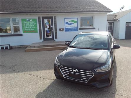 2019 Hyundai Accent Preferred (Stk: 21050) in Waterloo - Image 1 of 17