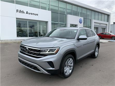 2021 Volkswagen Atlas Cross Sport 3.6 FSI Highline (Stk: 21236) in Calgary - Image 1 of 17