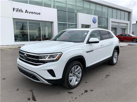 2021 Volkswagen Atlas Cross Sport 3.6 FSI Highline (Stk: 21225) in Calgary - Image 1 of 17