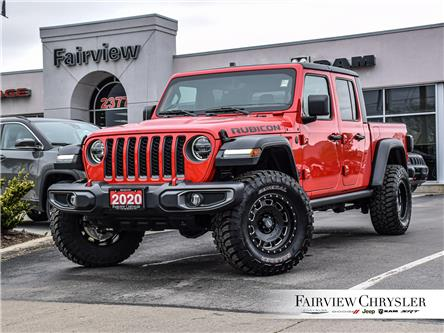 2020 Jeep Gladiator Rubicon (Stk: U18599) in Burlington - Image 1 of 29