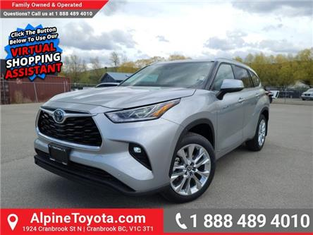 2021 Toyota Highlander Hybrid Limited (Stk: S020881) in Cranbrook - Image 1 of 27
