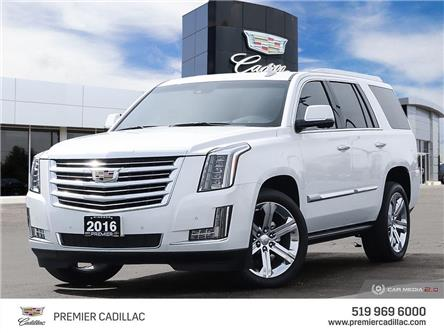 2016 Cadillac Escalade Platinum (Stk: 210582A) in Windsor - Image 1 of 29