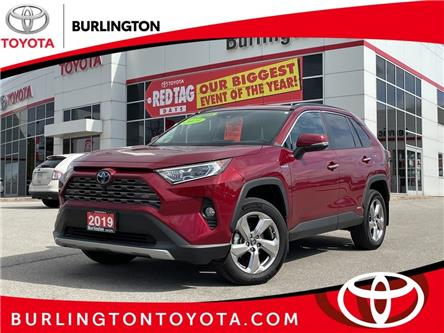 2019 Toyota RAV4 Hybrid Limited (Stk: U11574) in Burlington - Image 1 of 21