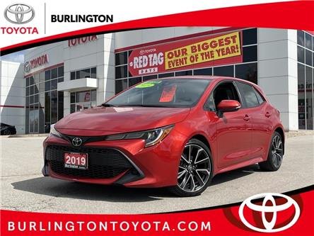 2019 Toyota Corolla Hatchback Base (Stk: U11598) in Burlington - Image 1 of 18