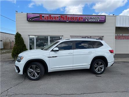 2019 Volkswagen Atlas 3.6 FSI Highline (Stk: K9639) in Tilbury - Image 1 of 23