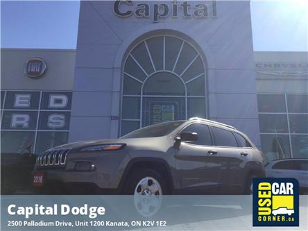 2016 Jeep Cherokee Sport (Stk: M00311A) in Kanata - Image 1 of 22