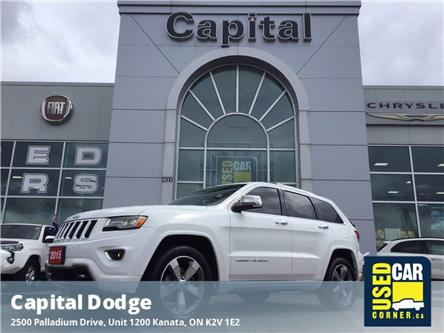 2015 Jeep Grand Cherokee Overland (Stk: L00059A) in Kanata - Image 1 of 26