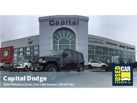 2020 Jeep Wrangler Unlimited Sahara (Stk: P3158) in Kanata - Image 1 of 25