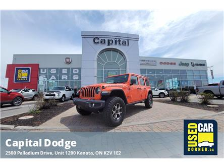 2020 Jeep Wrangler Unlimited Rubicon (Stk: P3157) in Kanata - Image 1 of 25
