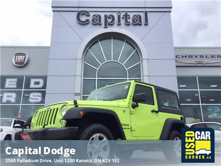2016 Jeep Wrangler Sport (Stk: J00798A) in Kanata - Image 1 of 16