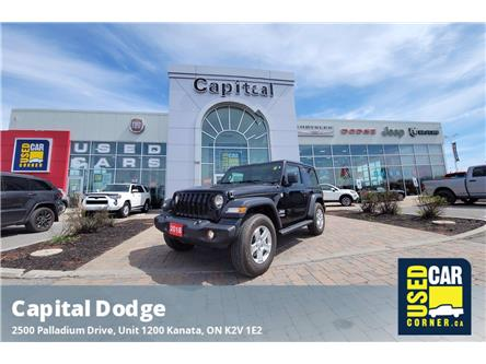 2018 Jeep Wrangler Sport (Stk: P3154) in Kanata - Image 1 of 19