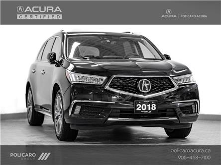 2018 Acura MDX Elite Package (Stk: 800018P) in Brampton - Image 1 of 30