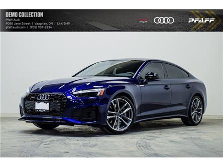 2021 Audi A5 2.0T Progressiv (Stk: T19455) in Vaughan - Image 1 of 21