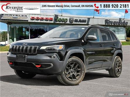 2020 Jeep Cherokee Trailhawk (Stk: N20067A) in Cornwall - Image 1 of 27