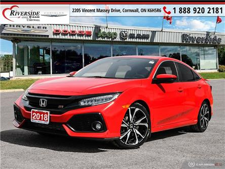 2018 Honda Civic Si (Stk: W04008) in Cornwall - Image 1 of 27