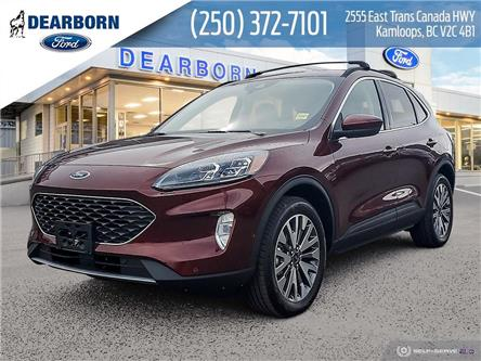 2021 Ford Escape Titanium Hybrid (Stk: DM183) in Kamloops - Image 1 of 26