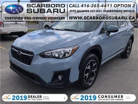 2019 Subaru Crosstrek  (Stk: K8308380) in Scarborough - Image 1 of 19