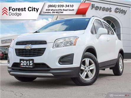 2015 Chevrolet Trax 1LT (Stk: 21-R016A) in London - Image 1 of 26