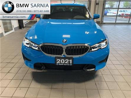 2021 BMW 330i xDrive (Stk: B2110) in Sarnia - Image 1 of 10
