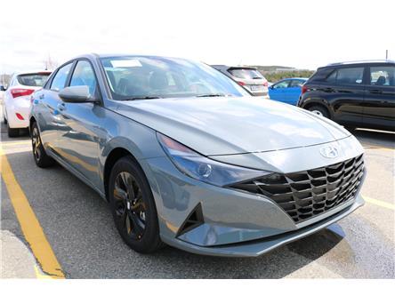 2021 Hyundai Elantra HEV Preferred (Stk: 12698) in Saint John - Image 1 of 18
