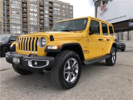 2019 Jeep Wrangler Unlimited Sahara (Stk: P5369) in North York - Image 1 of 29