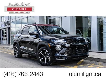 2021 Chevrolet TrailBlazer RS (Stk: MB101155) in Toronto - Image 1 of 23
