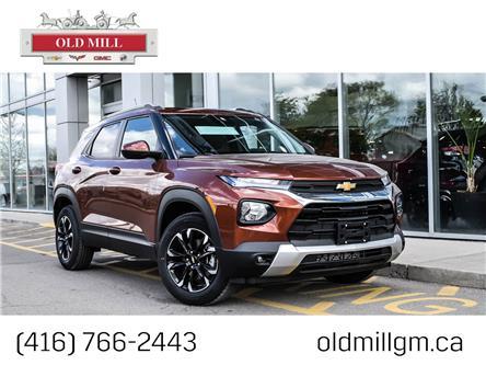 2021 Chevrolet TrailBlazer LT (Stk: MB150337) in Toronto - Image 1 of 22