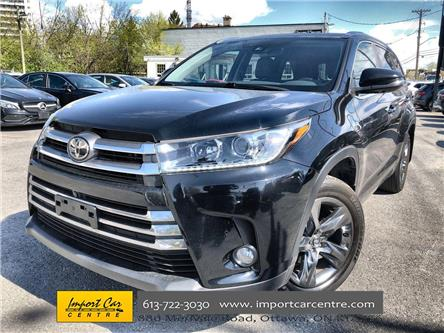 2017 Toyota Highlander Limited (Stk: 395251) in Ottawa - Image 1 of 27